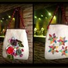 Giveaway: Colorful Fabric Shoulder Bag by Needle Doodle