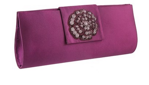 Metro Purple Clutch