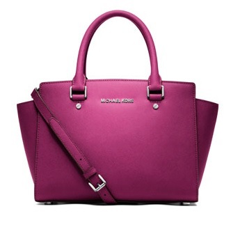 Michael Kors Medium Satchel Selma