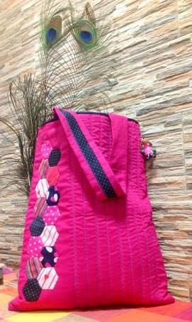 Needle Doodle Fabric Bag