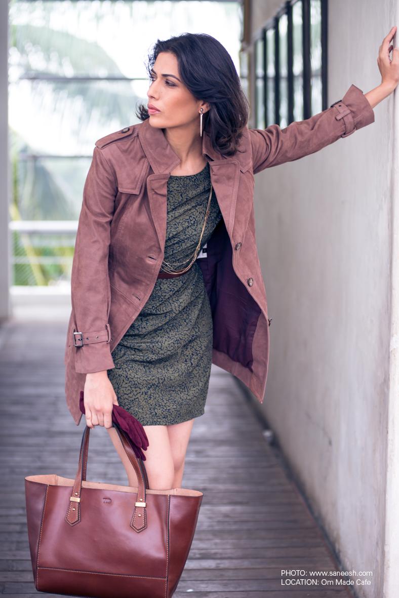 The Leather Boutique Long Women's Jacket