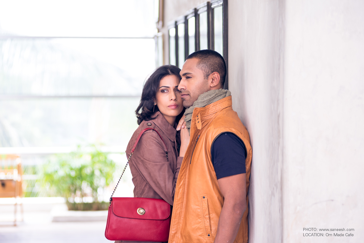 The Leather Boutique Flapped Red Bag