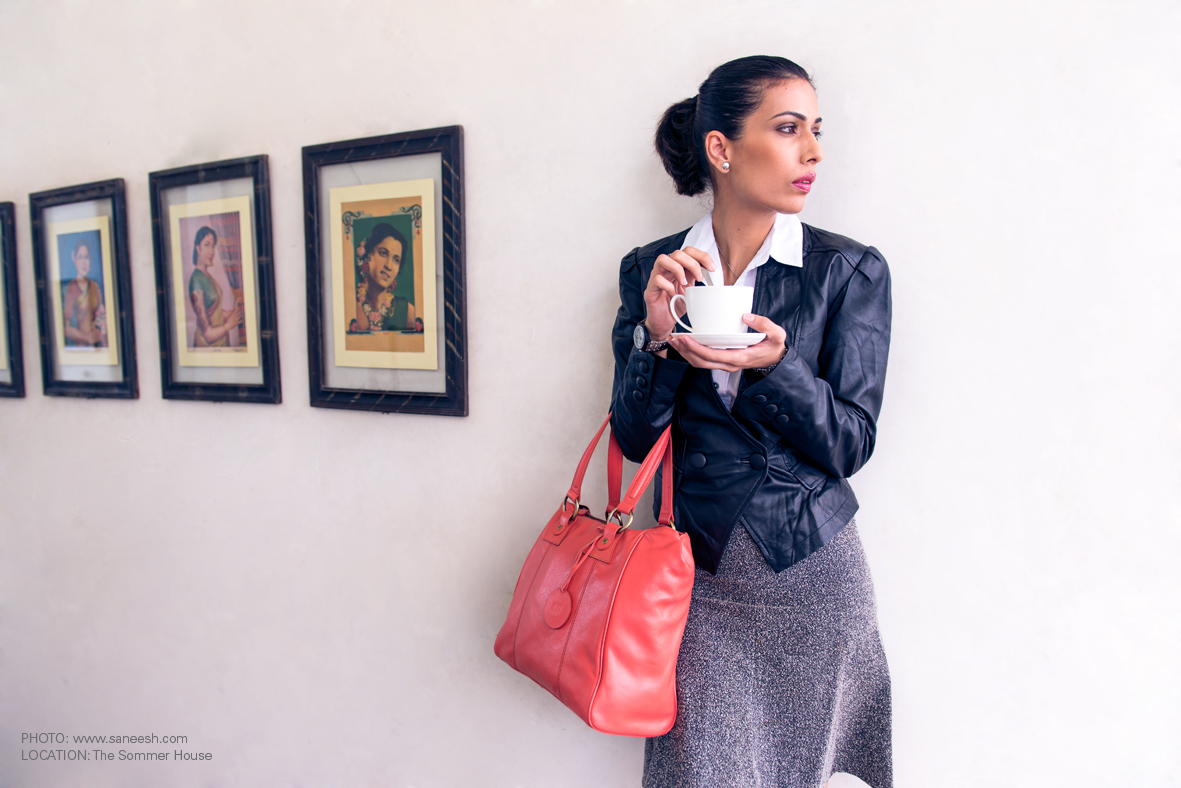 The Leather Boutique Coral Bag