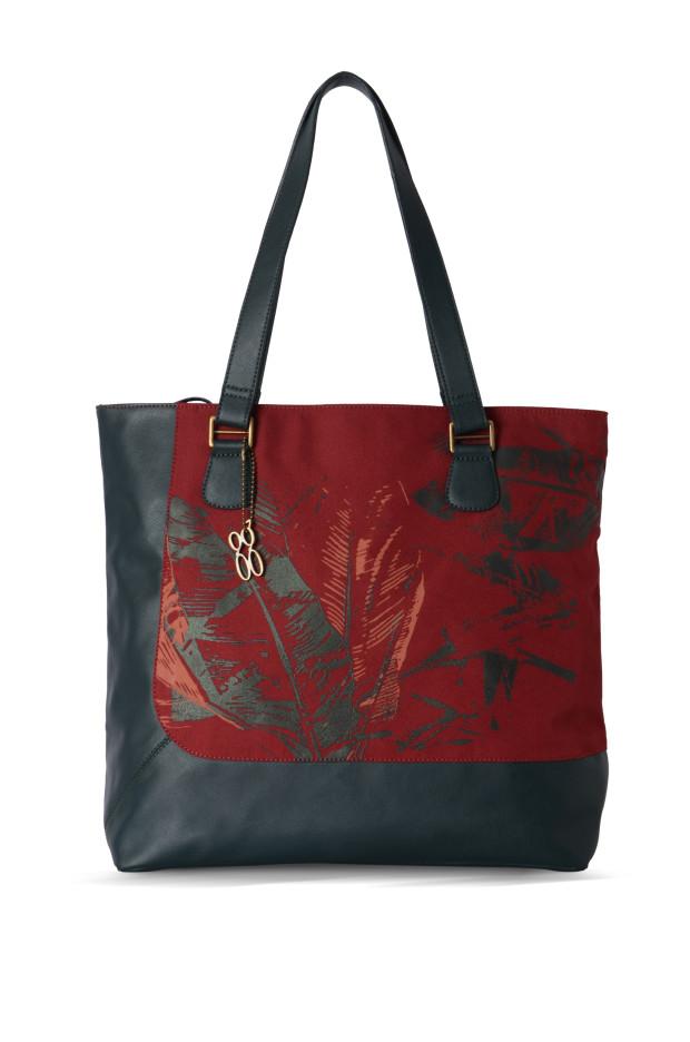 Baggit L TRINO Tote Bag Red
