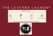 The Leather Laundry, The Leather Boutique, leather care