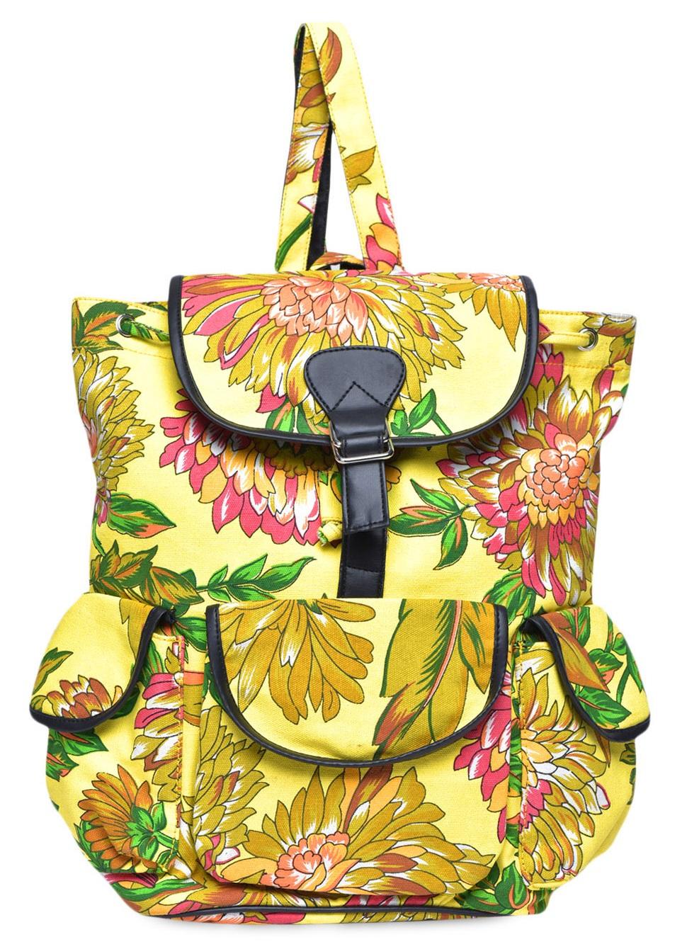 Limeroad Yellow Backpack