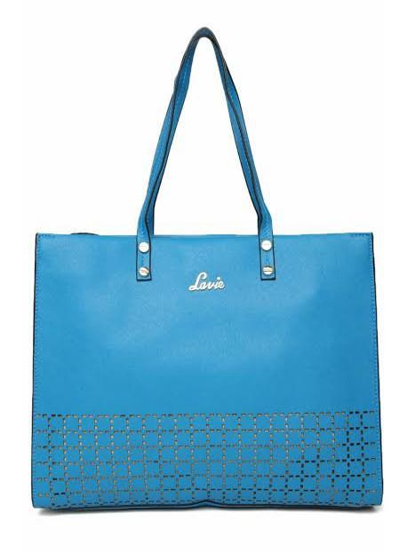 Lavie Blue Shoulder Handbag Bagslounge Myntra