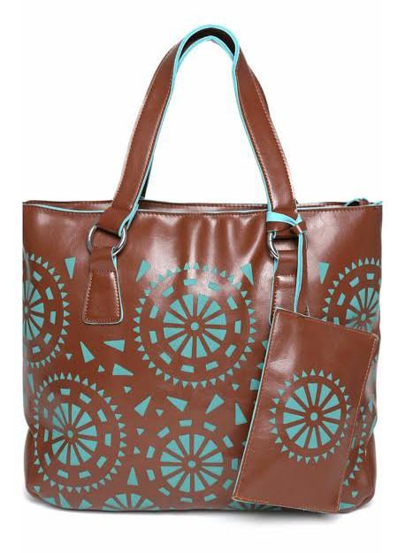 Lino Perros Brown Handbag Bagslounge Myntra