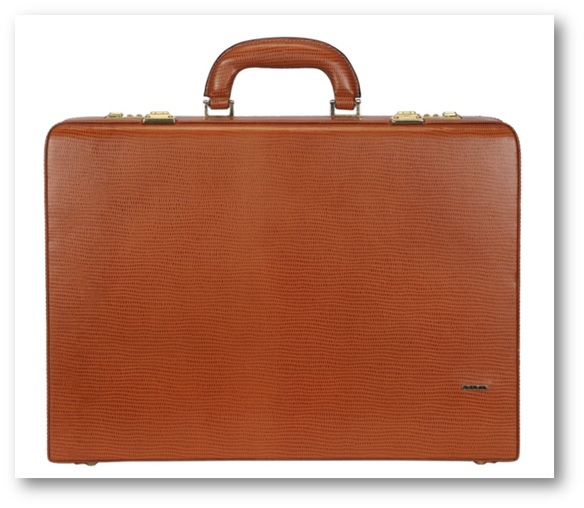 Adamis Leather Briefcase