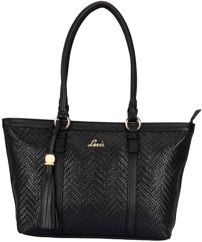 BagsLounge LAVIE EMMA LG SHOPPER BLACK-PINK