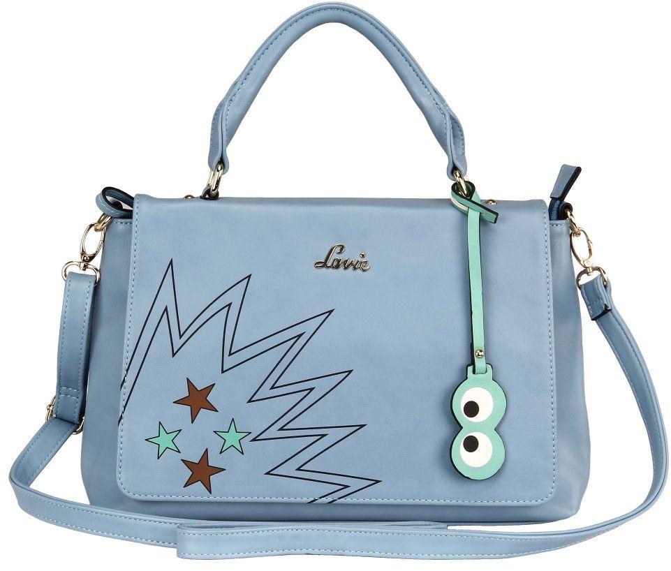 BagsLounge LAVIE POPPINS 3C LG HH TOTE PALE BLUE