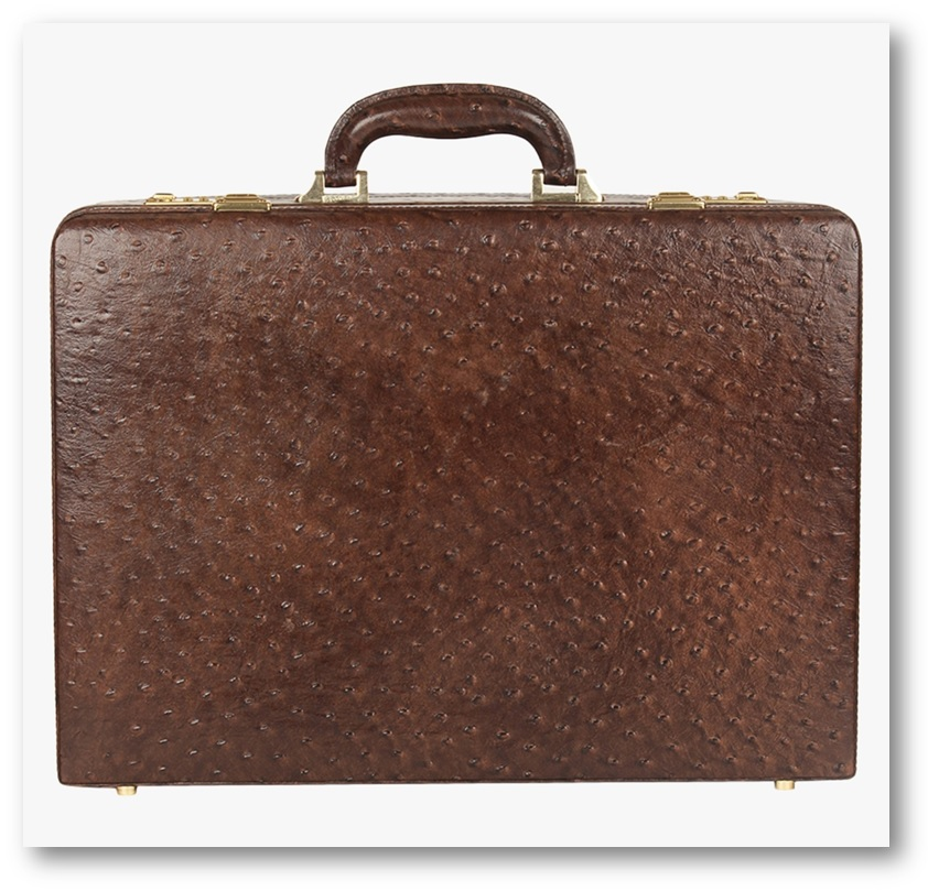 Kosher Leather BRiefcase