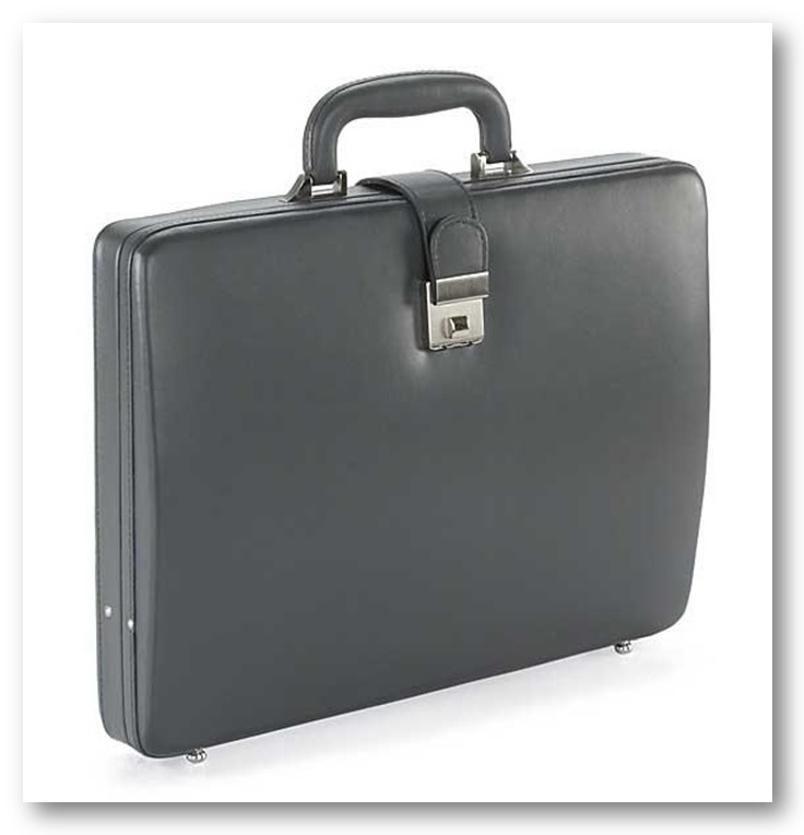 LeatherTalks Leather Briefcase