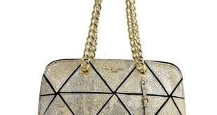 Da Milano Metallic Handbag