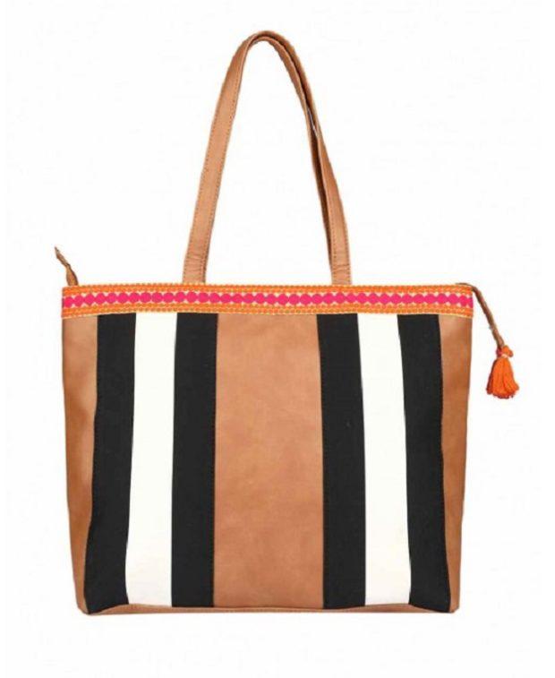 2AM Store Boho Striped Bag