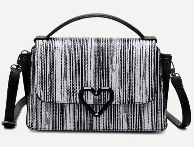 TC5 Monochrome Stripes Bag
