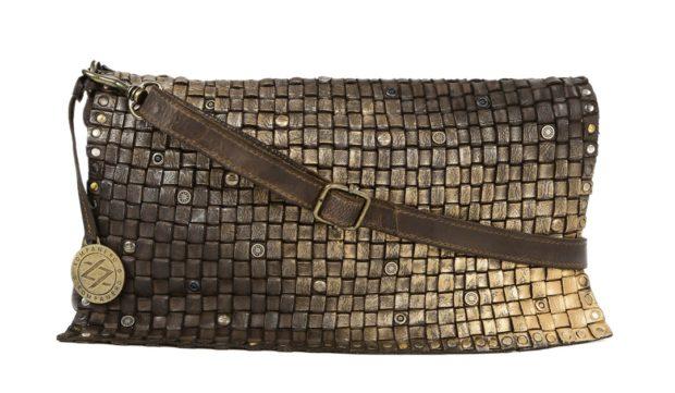 KOMPANERO Brown Leather Sling Bag