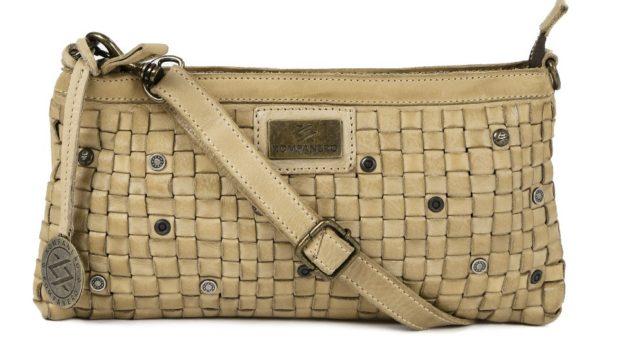 KOMPANERO Tan Brown Leather Sling Bag