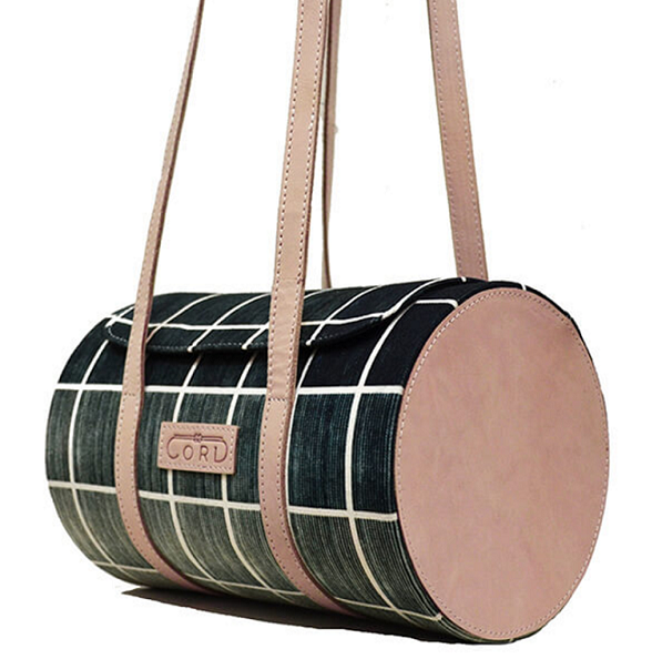 Cord Studio Barrel Bag