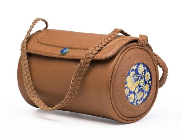 OctoberJaipur Blue Pottery Duffle Bag