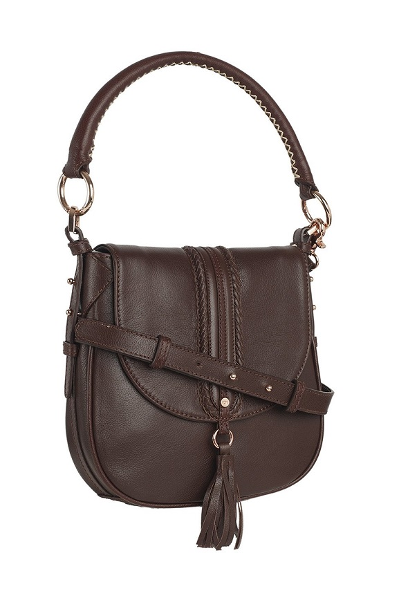 Tohl Leather Shoulder Bag